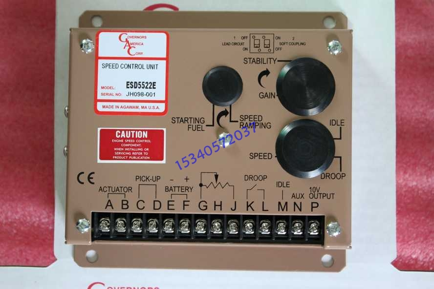 smartgen 众智 syn766a 电子调速器转速控制器